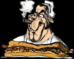 Philthy Phillys Cartoon Guy